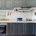 110平米三室三厅美式风格厨房效果图