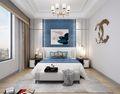 140平米一室两厅其他风格卧室装修效果图