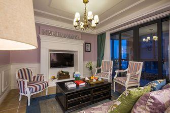 60平米公寓美式风格客厅装修效果图