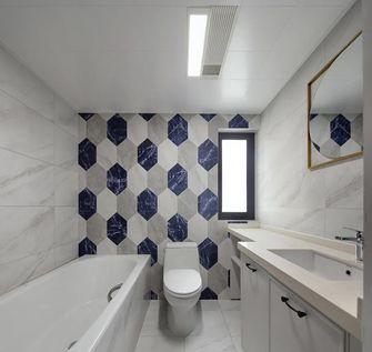 120平米三室两厅地中海风格卫生间设计图