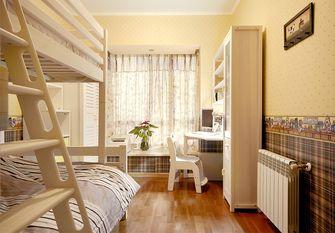 140平米三室两厅田园风格儿童房设计图