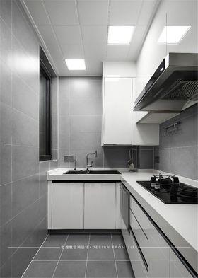90平米現代簡約風格廚房圖片