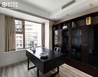 140平米三室两厅中式风格书房图片