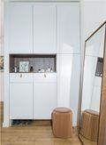 130平米三室两厅北欧风格玄关装修案例