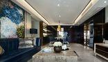 110平米四室两厅混搭风格客厅背景墙图片
