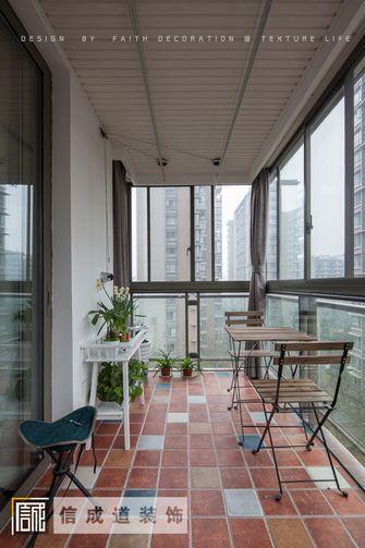 140平米三室两厅现代简约风格阳台装修效果图