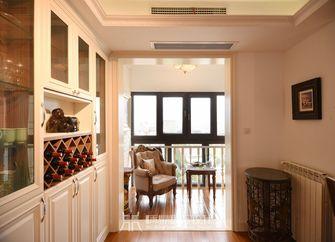 富裕型80平米美式风格走廊欣赏图