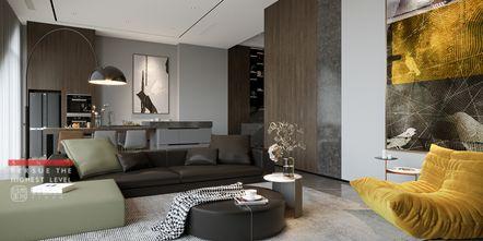 20万以上140平米四室四厅现代简约风格客厅图