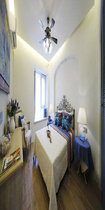 100平米四室一厅地中海风格卧室效果图