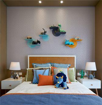 130平米三室一厅中式风格儿童房装修案例