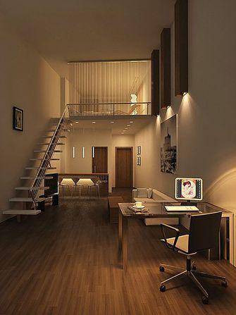 80平米公寓北欧风格楼梯间欣赏图