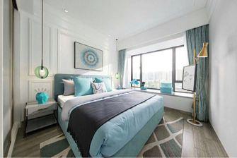 110平米三室两厅北欧风格卧室家具装修图片大全