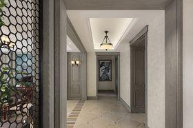 130平米三室兩廳美式風格走廊設計圖