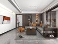130平米三室一厅其他风格客厅效果图