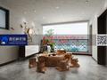 140平米四室两厅新古典风格阳光房设计图