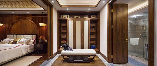 140平米别墅中式风格衣帽间装修效果图