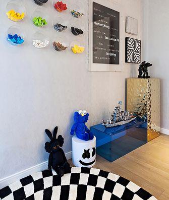 130平米三室两厅英伦风格儿童房图