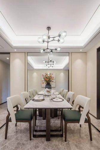 90平米三室一厅中式风格餐厅图