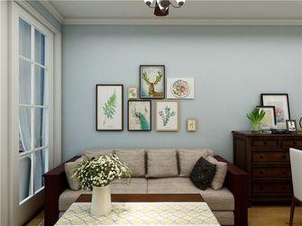 80平米三室两厅美式风格客厅装修图片大全