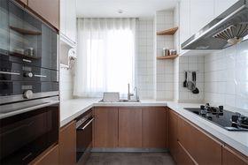120平米三日式风格厨房图