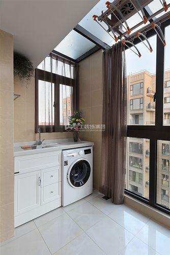 80平米三室两厅现代简约风格阳台图