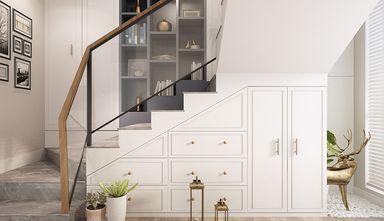 130平米三室两厅宜家风格楼梯间效果图