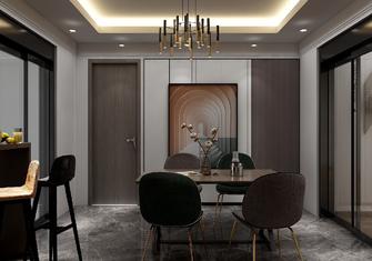 140平米三室一厅混搭风格餐厅图