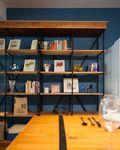 140平米三室三厅田园风格书房装修效果图