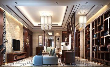 20万以上140平米四室三厅田园风格客厅设计图