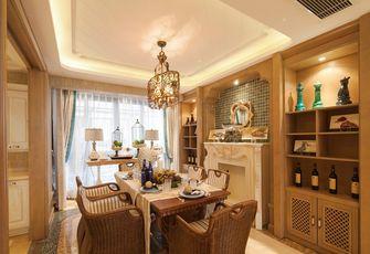 110平米四室两厅地中海风格餐厅图片