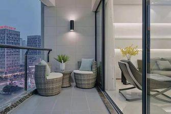 110平米三室两厅混搭风格阳台装修案例