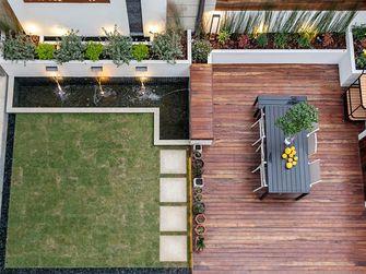 140平米别墅混搭风格阳台效果图