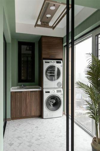 80平米公寓现代简约风格阳台装修效果图