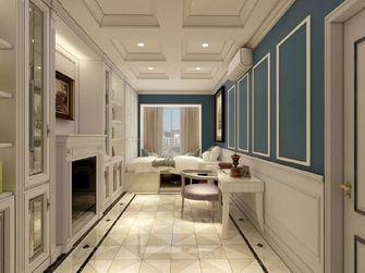 130平米三室两厅欧式风格衣帽间图片大全