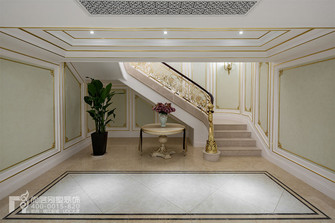 豪华型140平米别墅法式风格楼梯间效果图