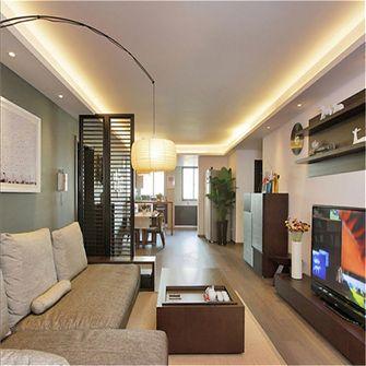 70平米宜家风格客厅图