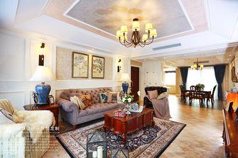 豪华型140平米四室两厅美式风格客厅图片大全