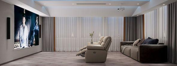 140平米别墅中式风格影音室欣赏图