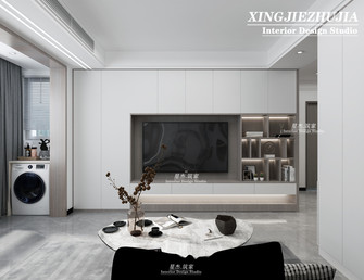 经济型70平米现代简约风格客厅图片大全