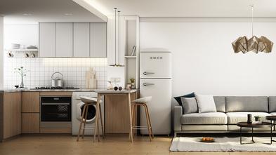 60平米一室一厅日式风格厨房装修案例