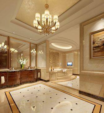 140平米别墅英伦风格卫生间装修案例