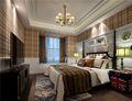 120平米四室一厅英伦风格卧室图片大全