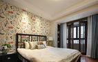 110平米三室一厅中式风格卧室设计图