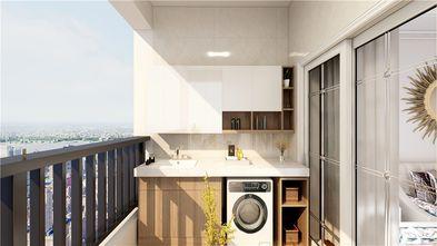 90平米三室两厅地中海风格阳台欣赏图