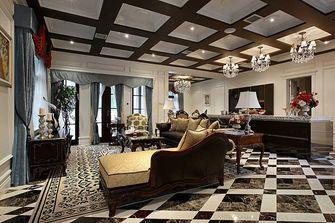 20万以上140平米别墅英伦风格影音室图片大全