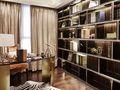 120平米三室两厅欧式风格书房图片大全