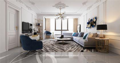 经济型130平米三法式风格客厅装修图片大全