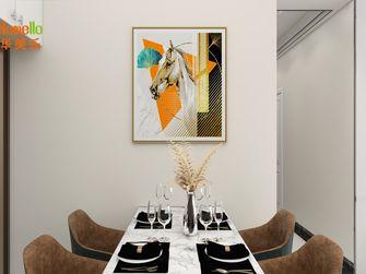 富裕型80平米四室一厅宜家风格餐厅装修案例