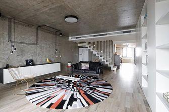 140平米一居室混搭风格客厅欣赏图