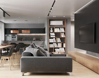 120平米三室两厅现代简约风格客厅图